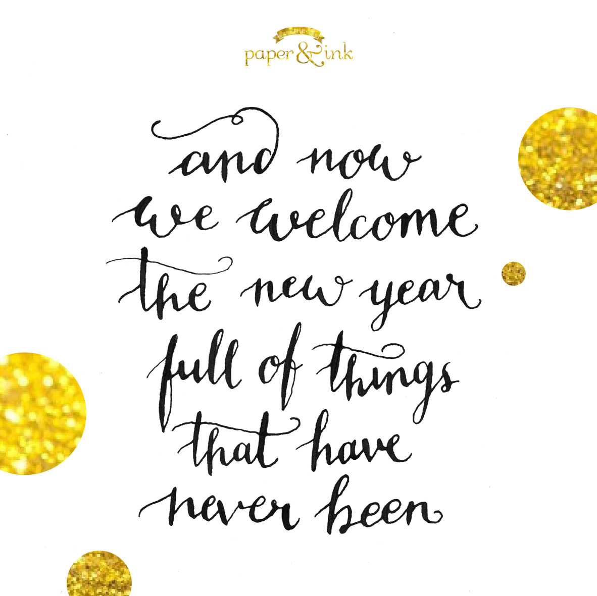 Weekly Quote: Happy New Year – The Paper Daily